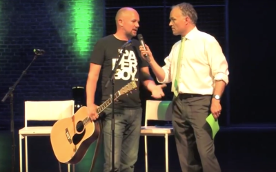 Optreden tijdens NRC Groene Theater: Wake Up