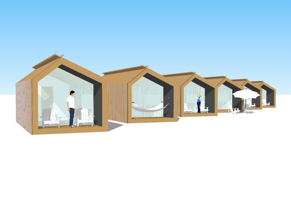 Duurzame Strandhuisjes
